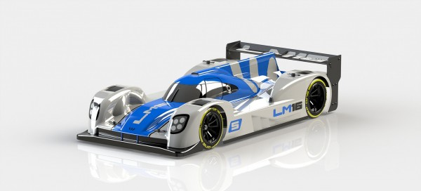 P-ONE Pro2 + Rear Wing + Supports