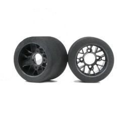 Tyres Pan-car 1:10 Rear Pink (25sh On-Road)