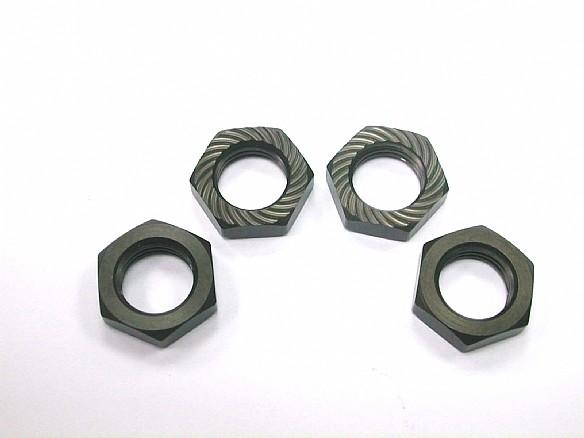 17mm Self-Lock Wheel Nut/P1.25 (4pcs) (Total 7,2g)