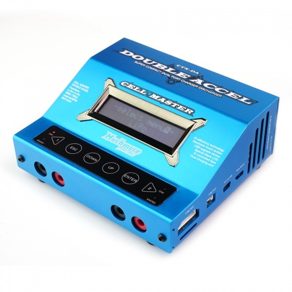 Charger & Discharger Cell Master Double Accel - Blue