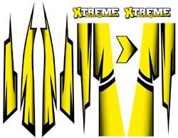 Xtreme Body skin - gelb