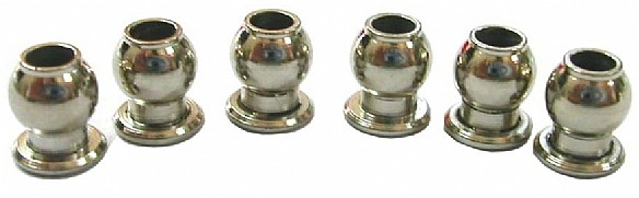 6mm Ball & Socket (6 pcs)