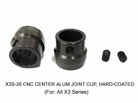 CNC Center Alum Joint Cup (2 pcs)